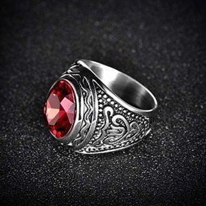 Other - Retro Gothic Cool Male Rings Stainless Steel